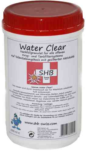 SHB Swiss Water Clear Filtergranulat 1000 ml